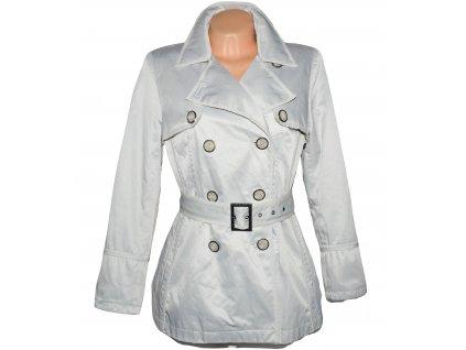 Bavlněný dámský kabát s páskem Jasper Conran UK 14