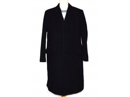 Vlněný pánský tmavě modrý kabát Hammersley M