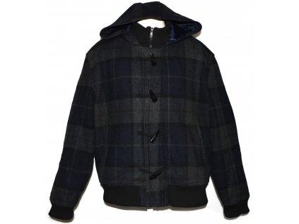 Vlněná pánská zateplená bunda s kapucí Cedarwood State XXL