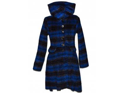 Dámský modrý pruhovaný kabát Joe Browns S/M