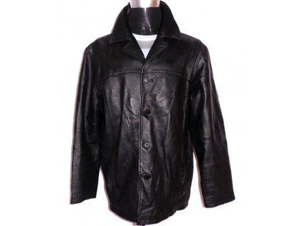 KOŽENÁ pánská černá bunda PREMIER MAN XL