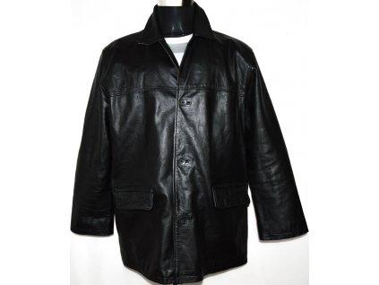 KOŽENÁ pánská černá bunda BLUE INC vel. XL