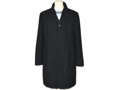 Pánský šedý dlouhý kabát Greyhound M