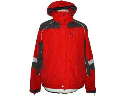 Lyžařská pánská červená bunda s kapucí Alpine Pro S