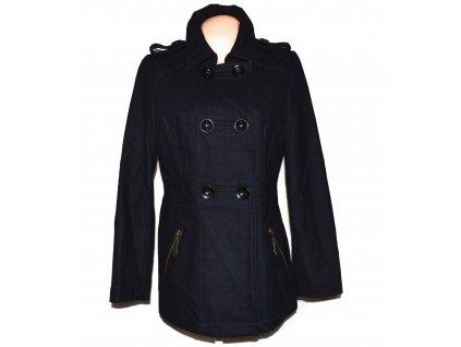 Vlněný dámský modrý kabát YESSICA L