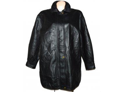 KOŽENÁ dámská černá měkká bunda Diverse de Luxe L