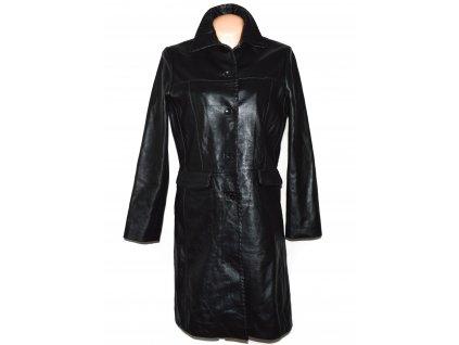 KOŽENÝ dámský černý měkký kabát Authentic 40
