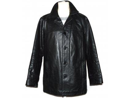 KOŽENÁ pánská černá zateplená bunda CERO 52