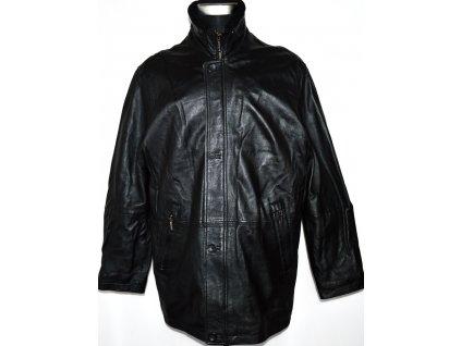 KOŽENÁ pánská černá měkkoučká bunda WALLACE SACKS L