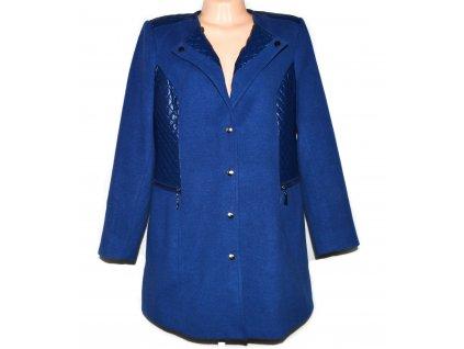 Dámský modrý kabát BPC XL