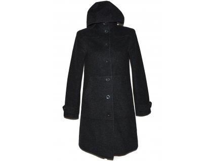 Vlněný (60%) dámský šedý kabát H&M (vlna, kašmír) 10/36