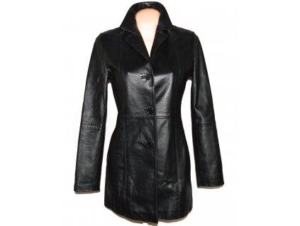 KOŽENÝ dámský černý měkký kabát CALYPSO S, XL, XXL