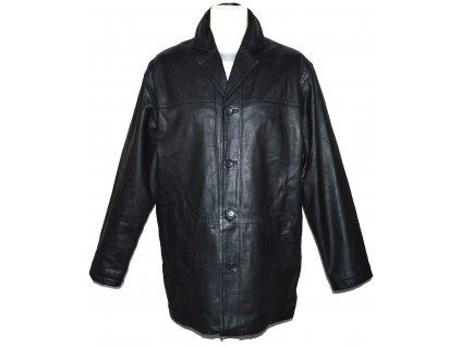 KOŽENÁ pánská černá měkká zateplená bunda INFUSE M