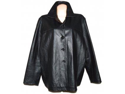 KOŽENÁ dámská černá měkká zateplená bunda Skin Tones 24/50