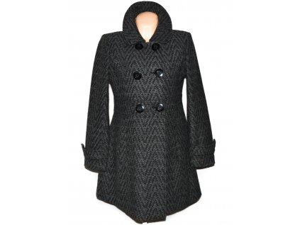 Dámský šedočerný kabát Coexis L