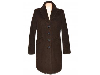 Vlněný dámský hnědý kabát ESPRIT L