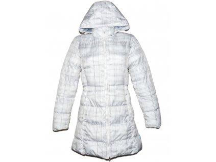 Dámský prošívaný bílý zimní kabát s kapucí ALPINE PRO M