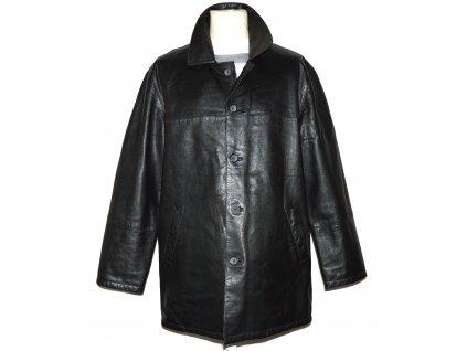 KOŽENÁ pánská oboustranná černá měkká bunda ZARA L