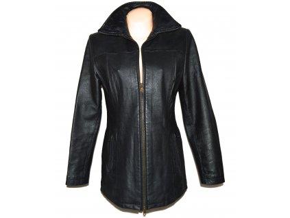 KOŽENÁ dámská černá měkká bunda HB 40