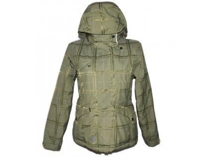 Lyžařská dámská zelená bunda s kapucí BURTON M