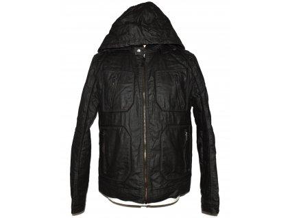 Bavlněná pánská bunda s kapucí GUESS M