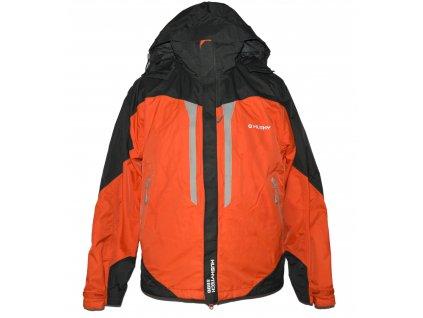 Lyžařská pánská oranžová bunda s kapucí HUSKY M
