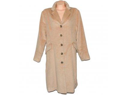 Dámský béžový dlouhý kabát Expressions 46