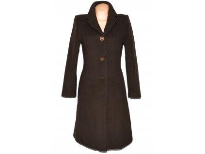 Vlněný (60%) dámský hnědý kabát LIU (vlna, kašmír) S