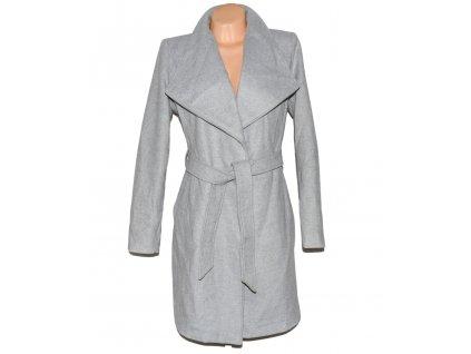 Dámský šedý kabát - kardigan s páskem VILA XL