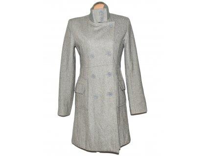 Dámský šedý dvouřadý kabát Cellope M