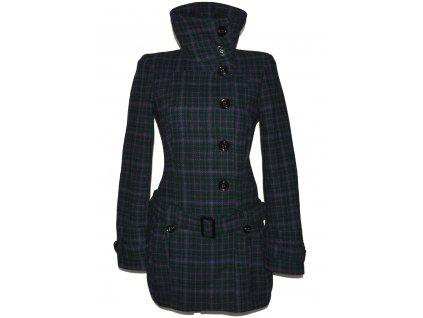 Vlněný dámský kabát s páskem TOPSHOP S