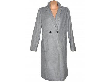 Dámský šedý kabát s cedulkou Zanzea Collection XL