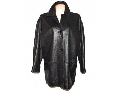 KOŽENÁ dámská černá měkká bunda Hobbs XXXL