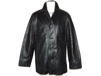 KOŽENÁ pánská černá měkká bunda GIPSY L