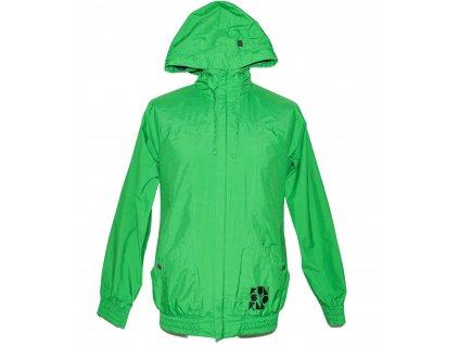 Pánská zelená sportovní bunda s kapucí FUNSTORM L