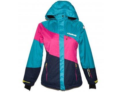 Lyžařská dámská barevná bunda s kapucí KILLTEC L