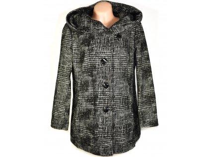 Dámský černobéžový kabát CANDA XXL