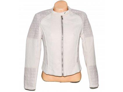 Dámská růžová bunda na zip H&M S