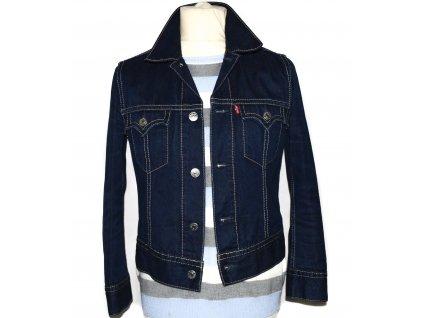 Pánská modrá džínová bunda LEVIS L