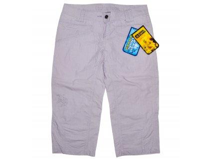 Bavlněné dámské fialkové 3/4 kalhoty NORD BLANC 36 - s cedulkou