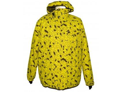 Lyžařská pánská žlutá bunda s kapucí LOAP M