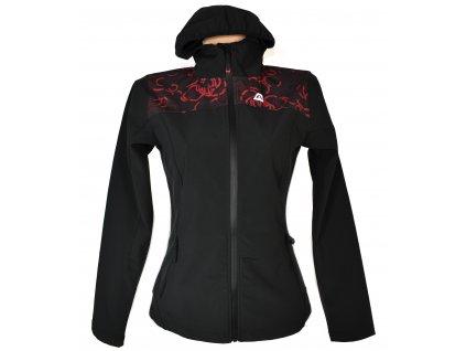 Dámská černá softshellová bunda s kapucí Alpine Pro S