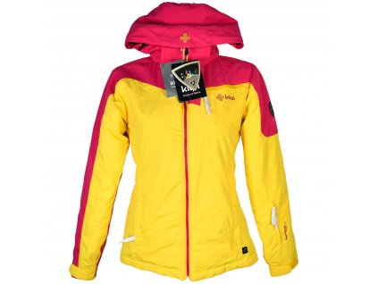 Lyžařská dámská žlutorůžová bunda Killpi 36 - s cedulkou