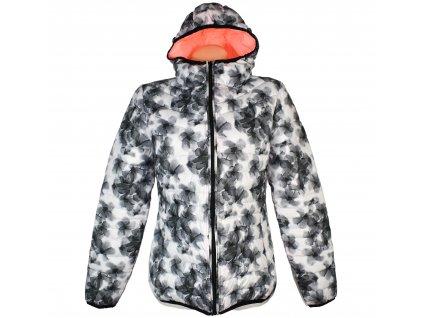 Dámská prošívaná sportovní bunda s kapucí LOTTO XL