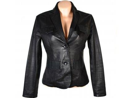 KOŽENÉ dámské černé měkké sako Class M