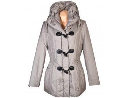 Dámský béžový prošívaný kabát Canda L/XL