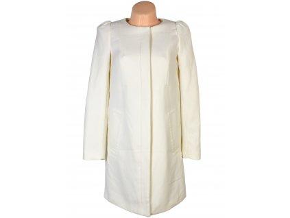 Dámský smetanový kabát na zip H&M S