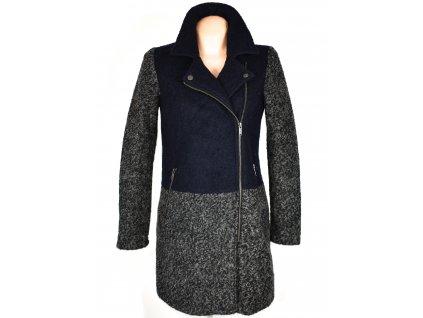 Dámský šedomodrý kabát - křivák Reserved 36