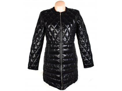 Dámský černý prošívaný kabát AMISU 38