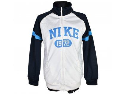 Chlapecká modro-bílá mikina Nike 122-128